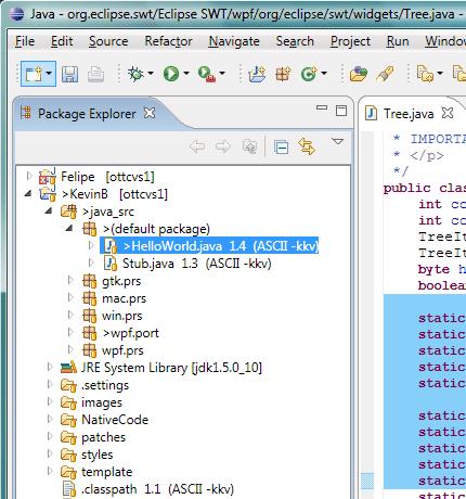 Eclipse on Vista (WPF)