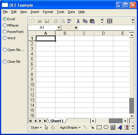 OLEExample