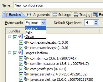 OSGi Framework Launcher