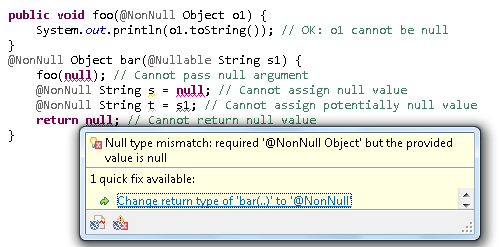 Null annotation example