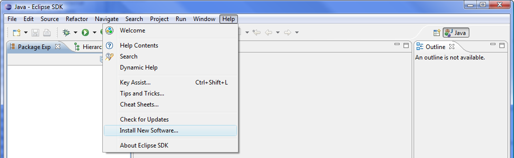 Windowbuilder pro eclipse update site for eclipse 4 4 for Windowbuilder